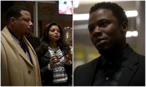Empire 1 x 9 Cookie Lucious Malcom collage